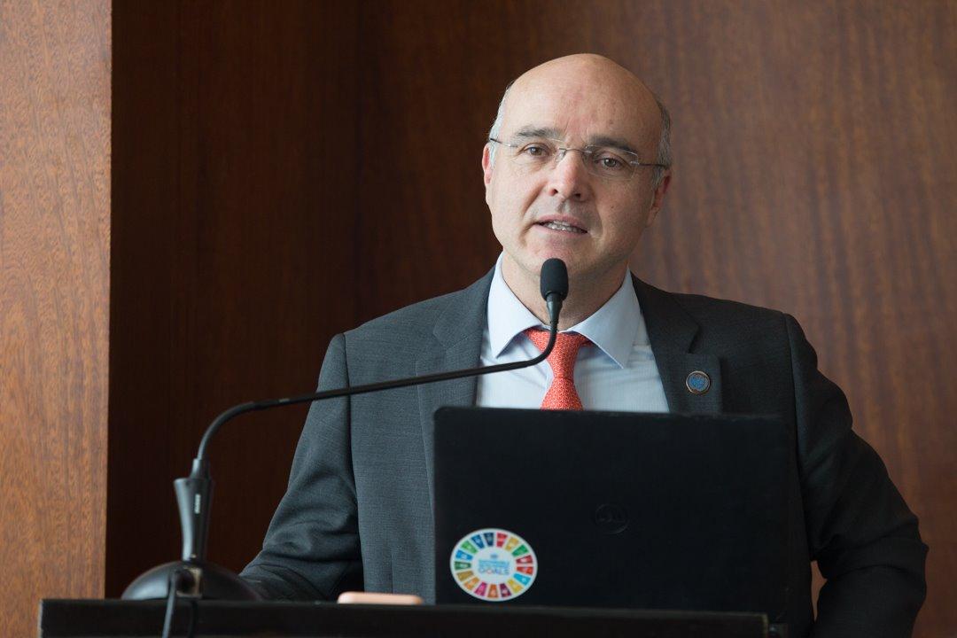 Mauricio Ramírez Villegas, coordinador residente del Sistema de las Naciones Unidas en República Dominicana.