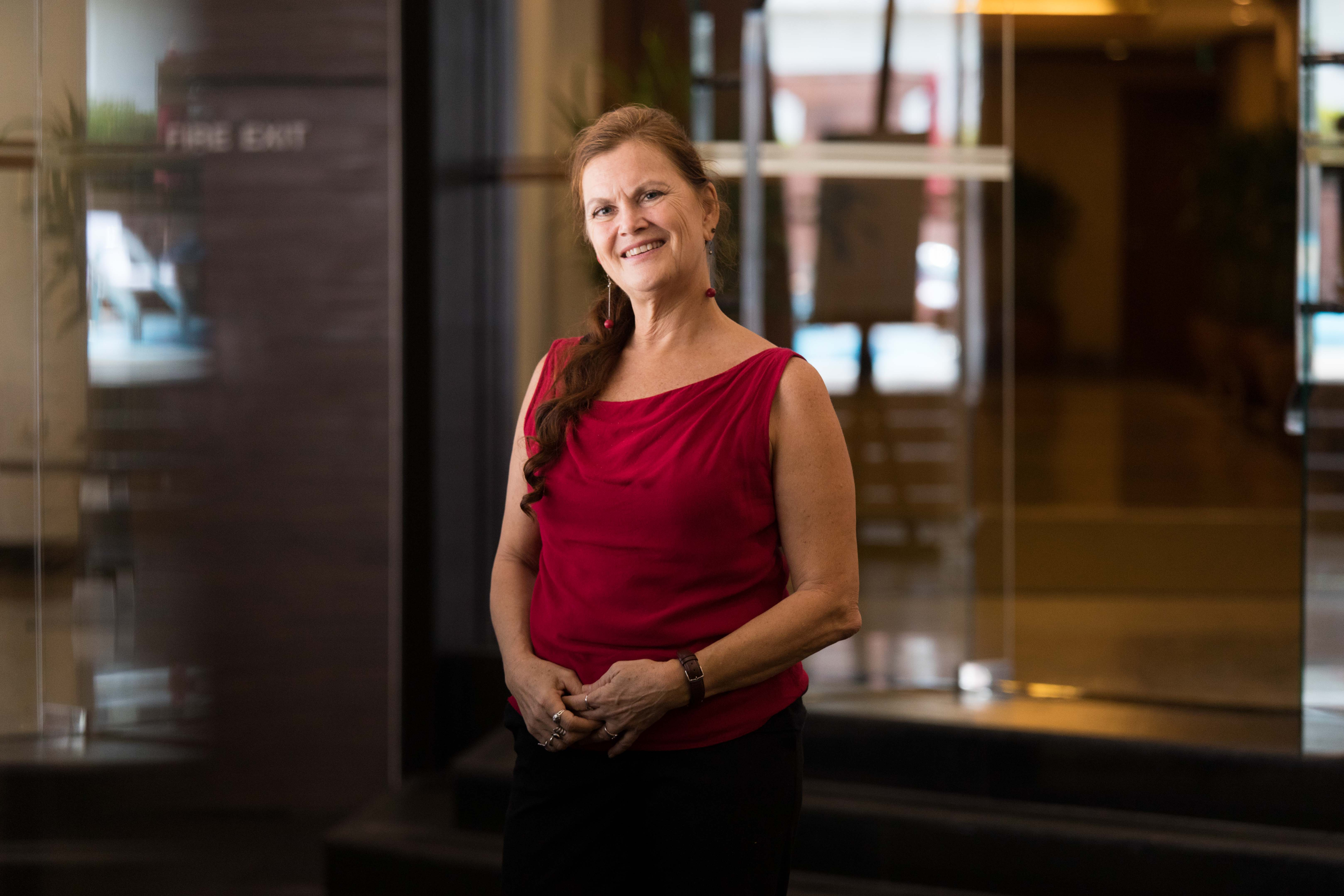Dr Henriette Jansen, UNFPA - photo by Amanda Mustard