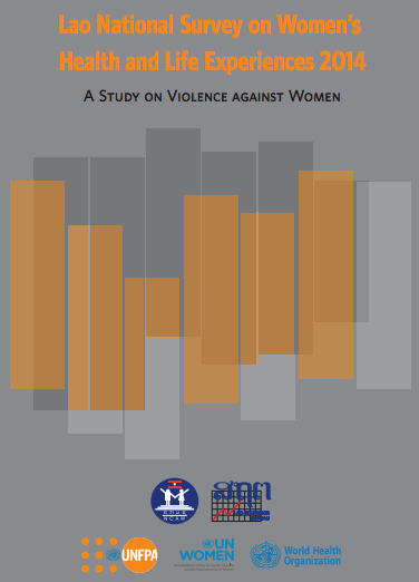 Cover of Lao National Survey on Women's Health and Life Experiences 2014