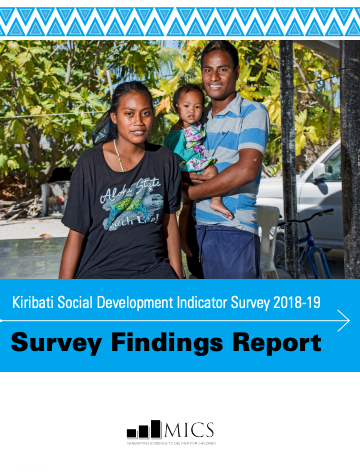 Kiribati Social Development Indicator Survey 2018-19