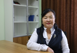 J. Tsetsegmaa, chief social worker and administrator of Mongolia's Darkhan-Uul One Stop Service Center for gender-based violence survivors