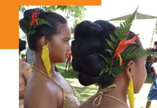 """Cover of """"Lessons learned from the implementation of a violence against women survey in Palau"""""""