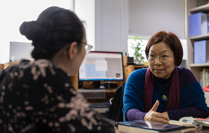 Youngsook Cho, Chair, International Solidarity Center of Korean Women's Associations United