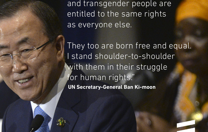 UN Free and Equal LGBT Rights Global Public Education Campaign