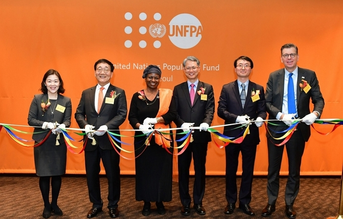 UNFPA Asiapacific   UNFPA opens a new liaison office in Seoul