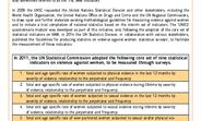 Indicators on Violence Against Women