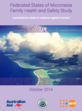 Cover of Federated States of Micronesia Family Health and Safety Study