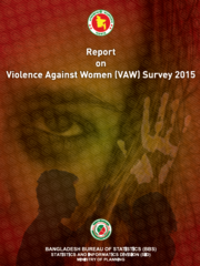 Report on Bangladesh Violence Against Women Survey 2015