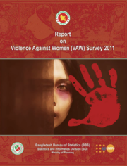 Cover of Report on Bangladesh Violence Against Women Survey 2011