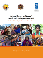 National Survey on Women's Health and Life Experiences 2017 in Bhutan report cover