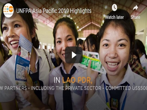2019 UNFPA Asia Pacific Highlights